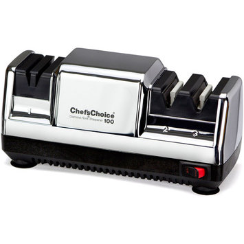 Chef's Choice Electric 100 Knife Sharpener, 3 Stage Platinum
