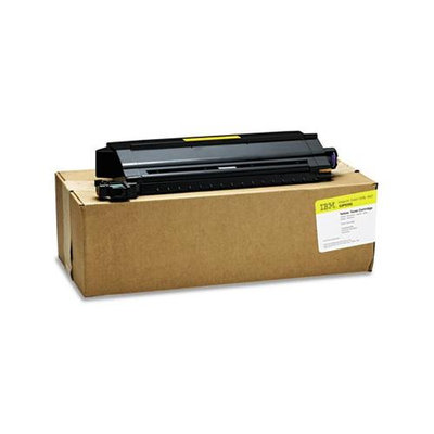 InfoPrint Solutions Company® 53P9395 High-Yield Toner, 14000 Page-Yield, Yellow
