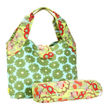 Amy Butler for Kalencom Tulip Diaper Bag Buttercups Tangerine