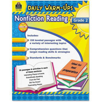 Teacher Created Resources 5032 Daily Warm-Ups: Nonfiction Reading Grade 2