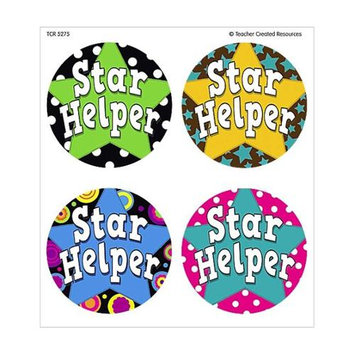 Teacher Created Resources 5275 Star Helper Wear Em Badges