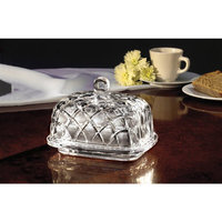 Jay Imports Fifth Avenue Crystal Muirfield Butter Dish