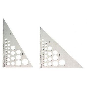Alvin & Company Alvin AT230-10 Triangle Alum 30-60-10 Inch