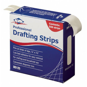 Alvin & Company Alvin DS125 Drafting Strips - 12 Pieces