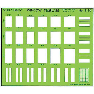 Timely Double-Hung Sash Window Template