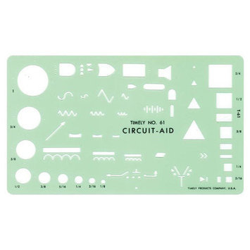 Timely 61T Circuit Aid Template