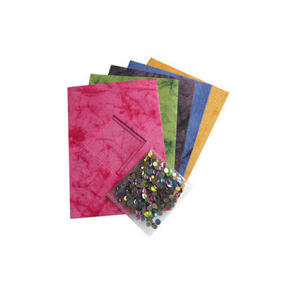 Alvin & Company Marble Diamond Sequin Card Cut Out Kit