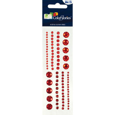 Alvin & Company Alvin and Co. Colorstories Selfadhesive Gems (Set of 88)