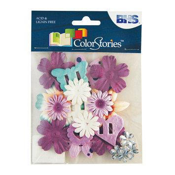 Blue Hills Studio Alvin and Co. Colorstories Paper Potpourri Flower