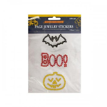 Koleimports bulk buys Frightful Collection Halloween Jewelry Stickers - Pack of 24