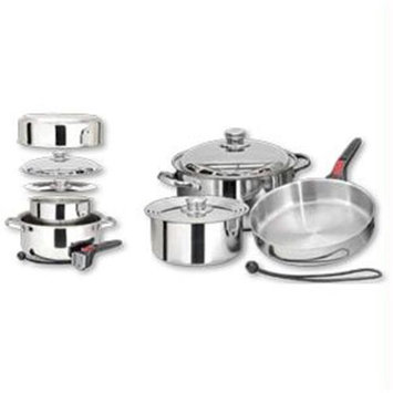 Magma Products Professional Series Stainless Steel Nesting Cookware Starter Set (7 Piece)