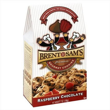Brent & Sams Cookie Rspbry Choc Chip 7 OZ -Pack Of 6