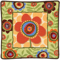 Dimensions Funky Flower Needlepoint Kit 14