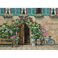 Dimensions Sorrento Hotel Counted Cross Stitch Kit