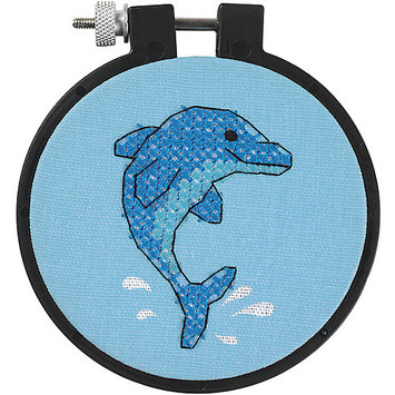 Other Dimensions Dolphin Delight Cross Stitch Starter Kit