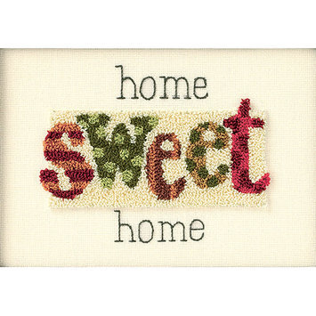Dimensions Home Sweet Home Punch Needle Kit, 7