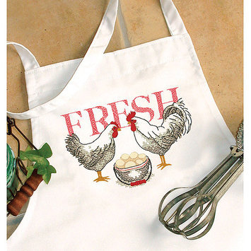 Dimensions Acquisition Llc Dimensions Rooster Apron Stamped Cross Stitch
