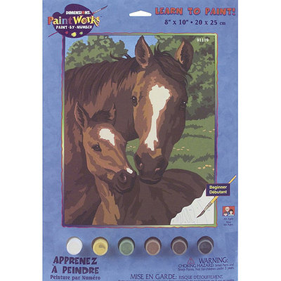 Dimensions 8x10 Learn To Paint Paint By Number Kit - Pony/Mother
