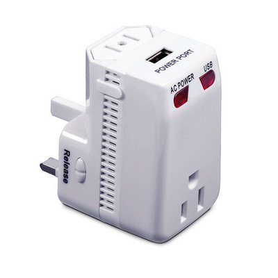 Smooth Trip International Converter and Adapter with USB