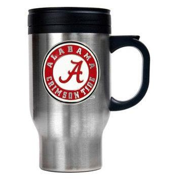 Louisville Cardinals 16oz Stainless Steel Travel Mug
