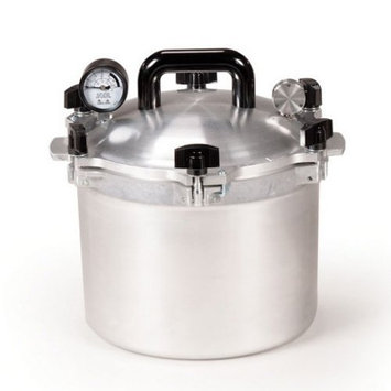 Wisconsin Aluminum Foundry Co., Inc. All American 910 10.5 Quart Pressure Cooker Canner