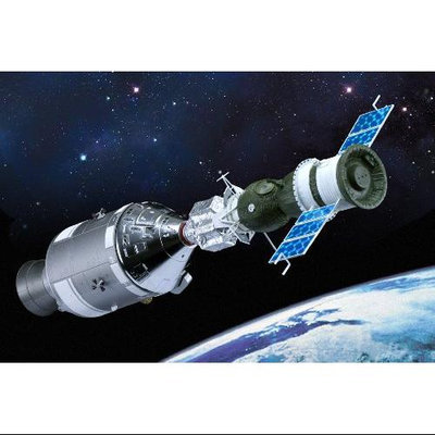 Dragon Models 1/72 Apollo 18 and Soyuz 19 Multi-Colored