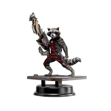Dragon Action Heroes Marvel Guardians of the Galaxy Rocket Raccoon Red Suit Special Edition Vignette