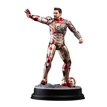 Dragon Action Heroes Iron Man Mark 42 Battle Damaged Suit 1:9 Scale Figure
