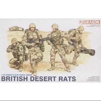 Dragon Models Usa 3013 1/35 British Desert Rats (4 Figures Set)