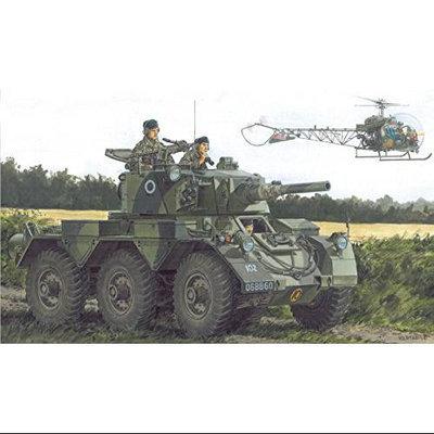 Dragon Models British Armored Car Saladin Mk. II -Black Label Series Model Kit (1/35 Scale) DMLS3554 Dragon Models USA