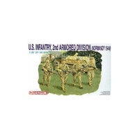 Dragon Models Usa 6120 1/35 US Infantry 2nd Armored Div. Normandy 1944
