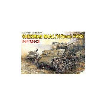 1/35 Sherman M4A3 w/105mm Howitzer Gun & HVSS - Dragon Models, USA - 6354