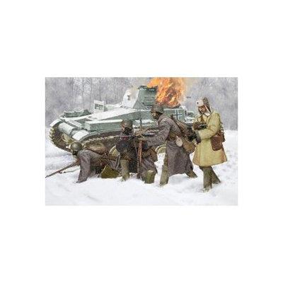 Dragon Models Usa 6744 1/35 Soviet Infantry Winter '41 (4 figs)