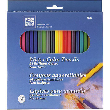 Loew-Cornell Watercolor Pencils, 24/Pkg - LOEW-CORNELL, INC.