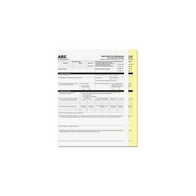 PM Company 2-Part Digital Carbonless Paper, White/Canary