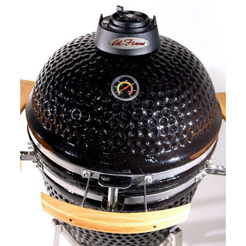 Lloyds Material Supply Co Cal Flame 21 in. Kamado Smoker Grill