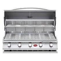 Lloyds Material Supply Co Cal Flame Gourmet Series 5-Burner G5 Built-In Gas Barbecue Grill