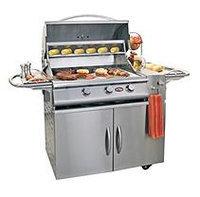 Cal Flame 3Burner Gourmet GSeries Gas Cart Grill ALaCartPlus