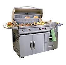 Cal Flame A-LA-Cart Deluxe with 4 Burner G4