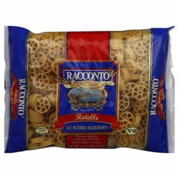 Racconto Rotelle Wagon Wheel Pasta 16 Oz Pack Of 20