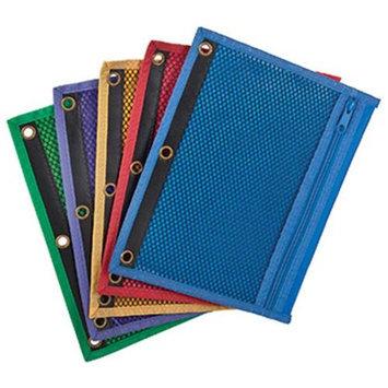 Esselte Corporation Zipper Binder Pockets, 3Hp, 10-1/2