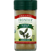 Frontier Natural Products Organic Sage Leaf Ground - 0.8 oz