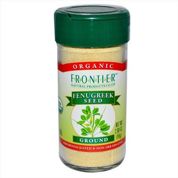 Frontier Natural Products - Fenugreek Seed Ground Organic - 2 oz.