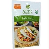 Simply Organic Fish Taco Seasoning - 1.13 oz