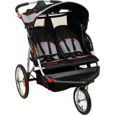 BABY TREND Expedition LX Swivel Double Jogging Stroller
