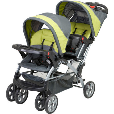 Baby Trend - Sit N Stand Double Stroller, Carbon