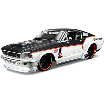 M J Toys Maisto 1:24 Scale Harley Davidson Ford Mustang GT 1967