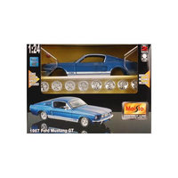 Maisto 1967 Ford Mustang blue 124
