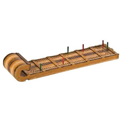 Gsi Outdoors Gifts Outside Inside 99885 Toboggan Cribbage Board Toy