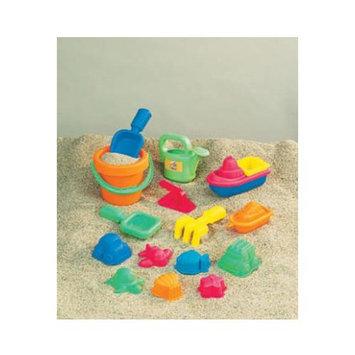 Small World Toys 15 Piece Sand Assortment